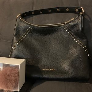 Michael Kors Purse and Key Chain